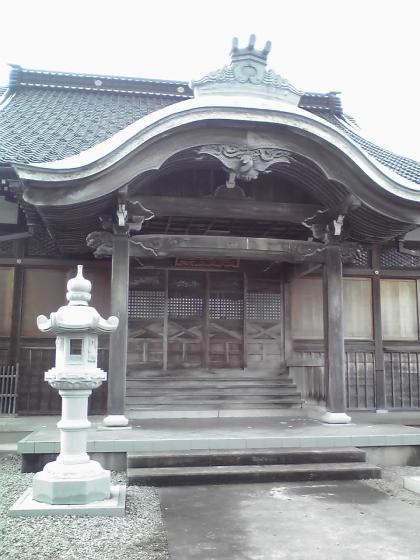 光禅寺本堂