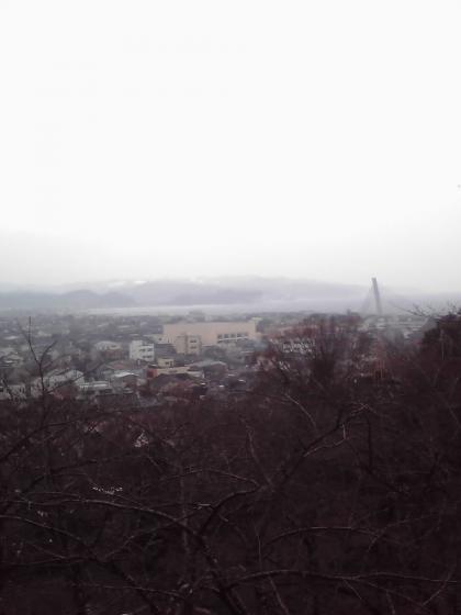 朝日山公園より
