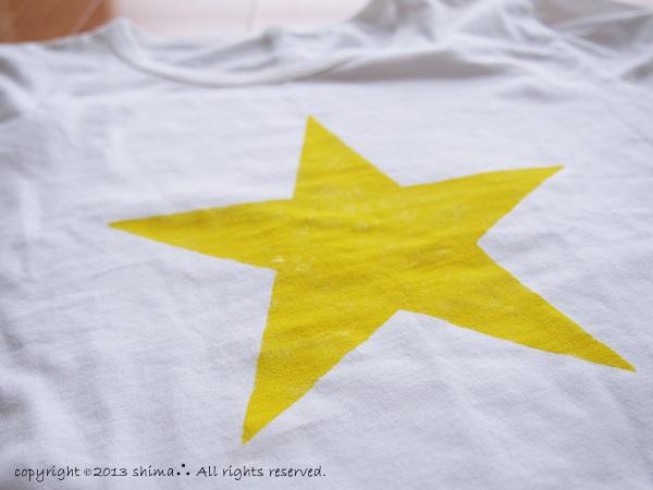 20131111ステンシルTシャツ3