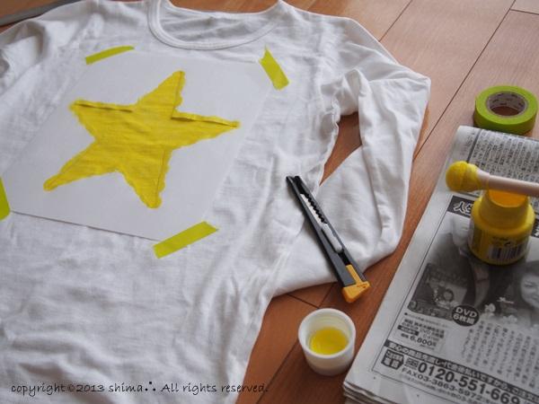 20131111ステンシルTシャツ2