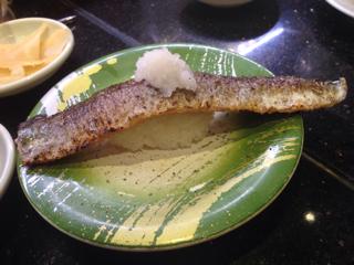 炙り秋刀魚半身