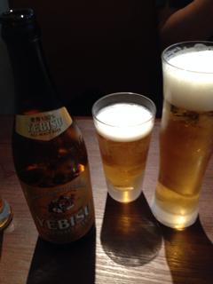 エクストラコールドと瓶ビール