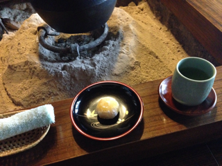 お茶と大福