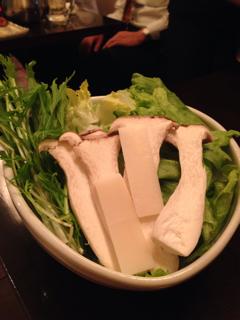 しゃぶしゃぶ野菜