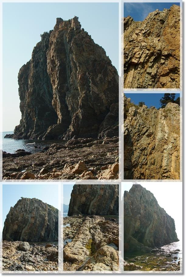 四億年前の地層11