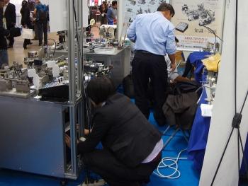 2013国際ロボット展 [ブース設営]