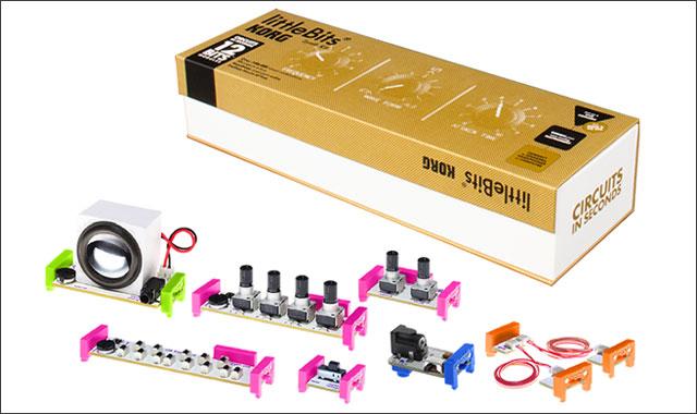 (動画あり)はじめまして、ブロック遊びみたいなシンセサイザー:littleBits × KORG #mft2013 : ライフハッカー[日本版]1