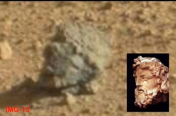 火星表面で「ゼウス」の首発見?オカルトサイトで話題に- 秒刊SUNDAY