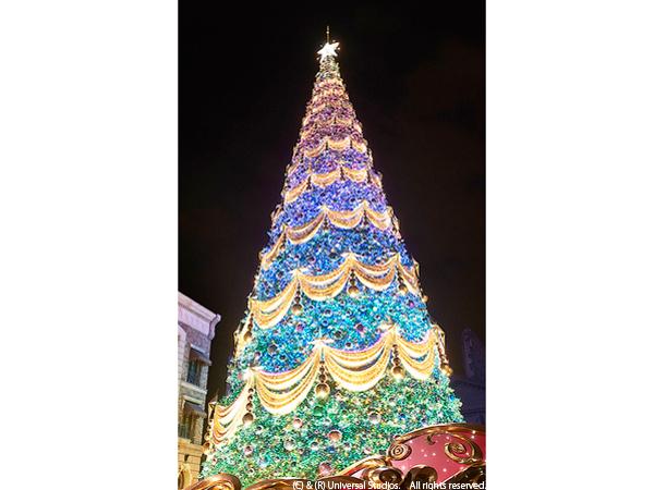 """「一生に一度は見たいツリー」1位はUSJ""""世界一の光のツリー""""! – ガジェット通信"""