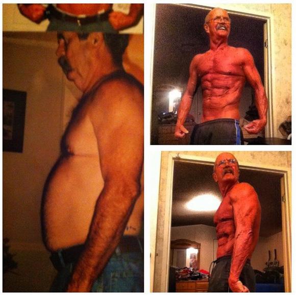 劇的に大変身! 56歳からトレーニングをはじめた男性が64歳にして超絶マッチョボディに | ロケットニュース24