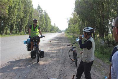 フランス人サイクリスト