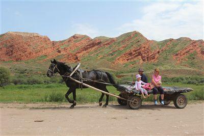 馬車の家族