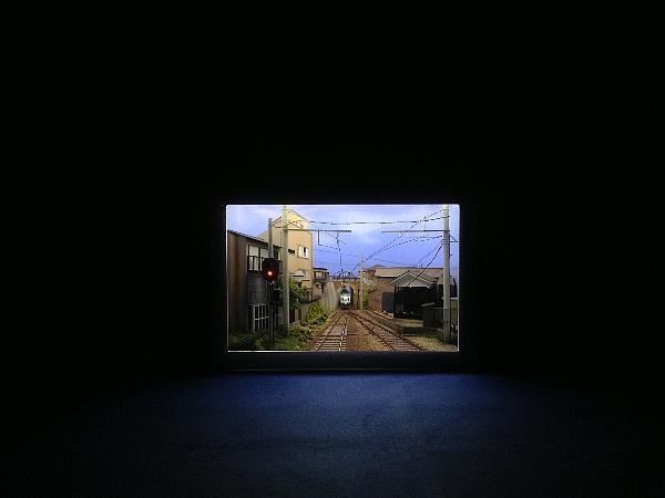 えちぜん鉄道10周年『あなたと創るアート展』 初日