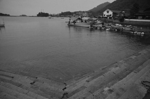 鞆の浦港景