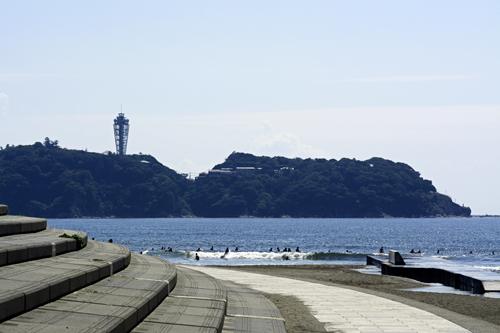 16日の江ノ島
