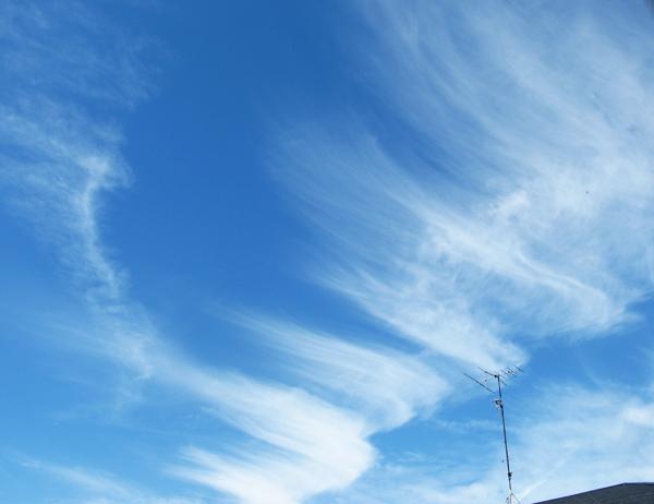 はけみたいな雲