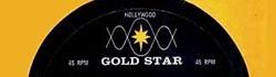 Goldstar label cut