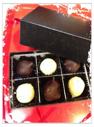 函館おたふく堂のおからチョコ