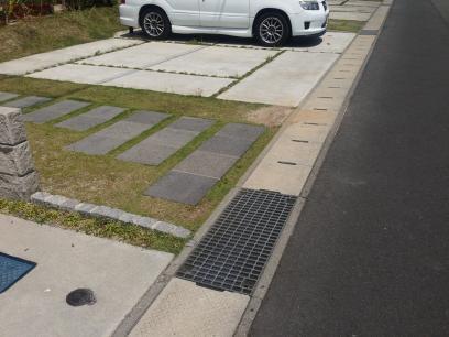 駐車場の不具合
