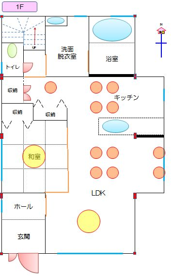 20120627_リビング全体の照明配置