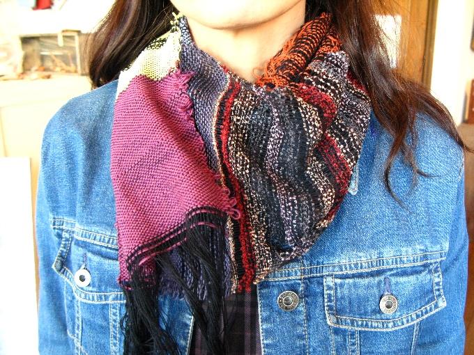 2013さをり織り体験-1