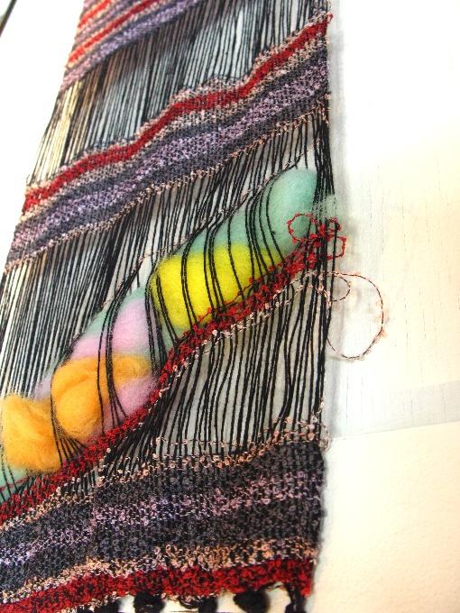 2013さをり織り体験-4