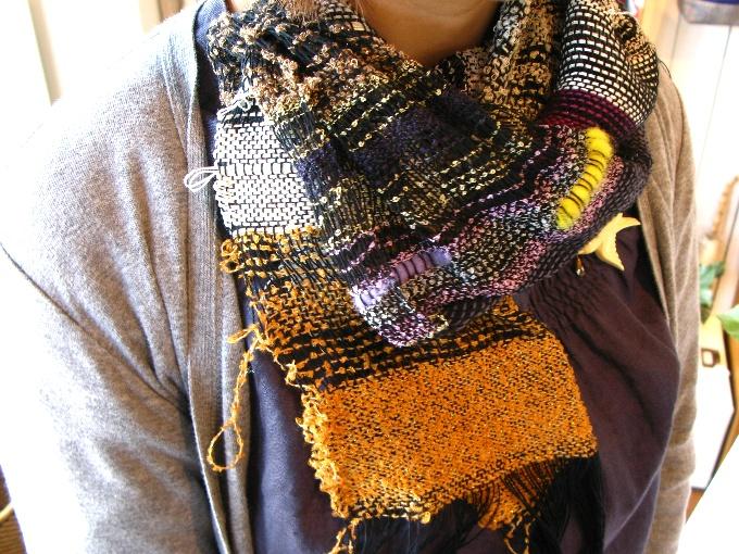 2013さをり織り体験-7
