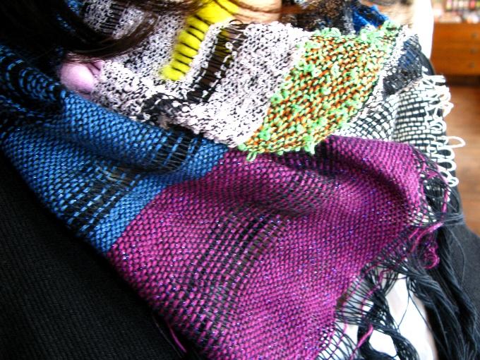 2013さをり織り体験-8
