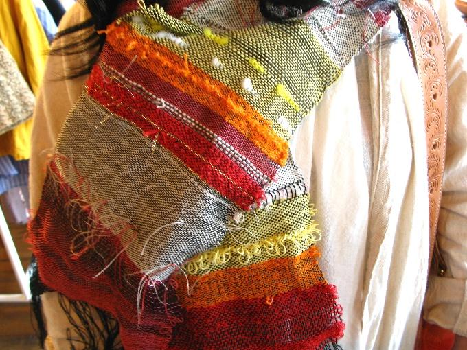 2013さをり織り体験-9