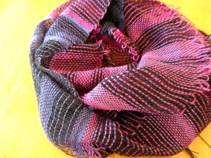 2013さをり織り体験-11