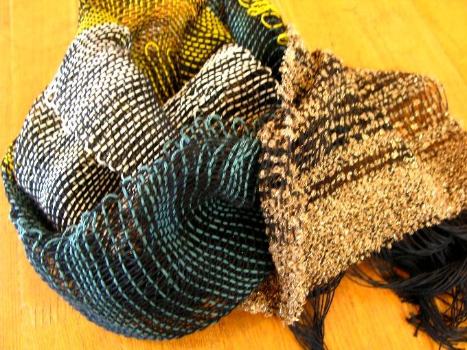 2013さをり織り体験-12