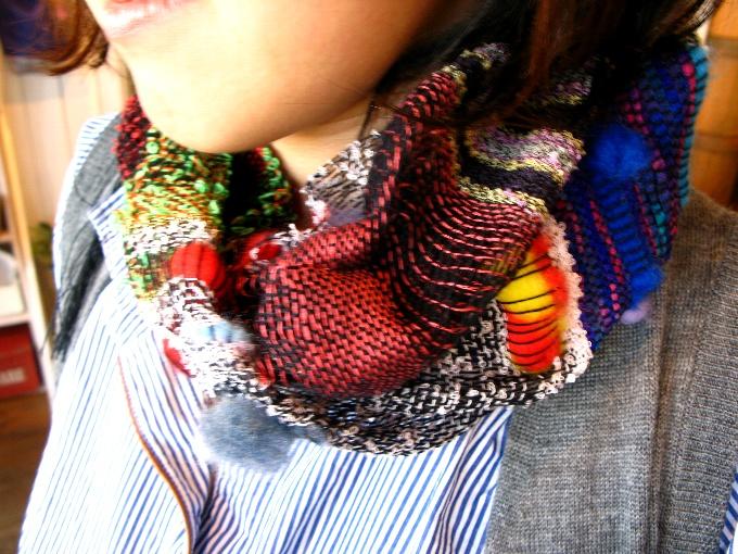 2013さをり織り体験-14
