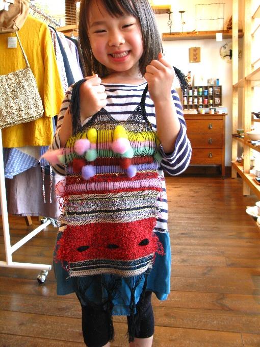 2013さをり織り体験-15