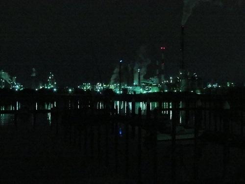 230387工場夜景・ボート
