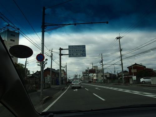 230263姫路城へ国道