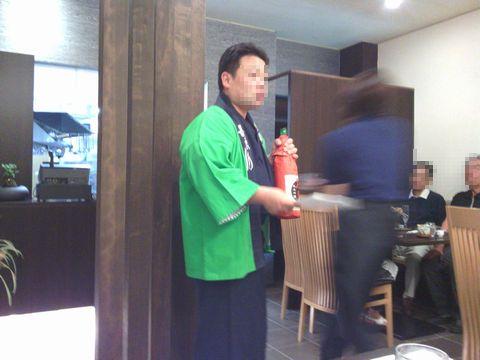 小町酒造 社長杜氏さん1