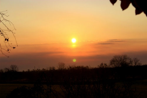 ラーダの朝日