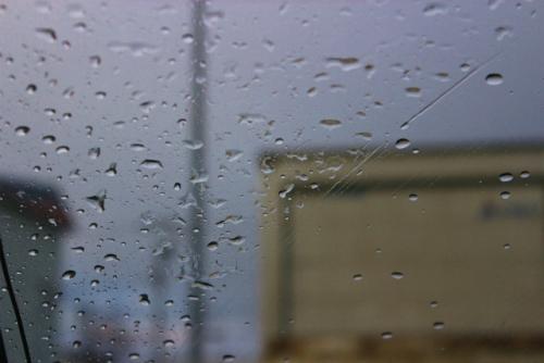 雨じゃん!