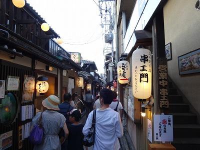 祇園の界隈