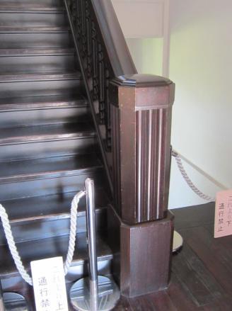 前田邸内観 24 裏の階段