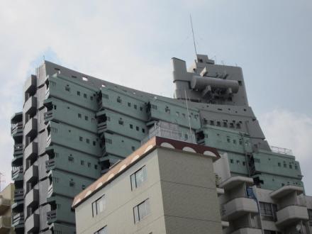 軍艦マンション②