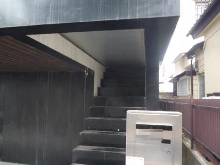玄関のない 家④
