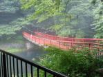菊池渓谷吊橋