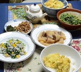 かき揚げの食卓2013508