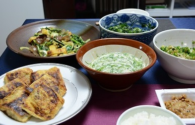 ネバネバな食卓2013607