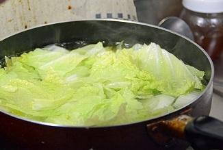白菜お湯通し2013814