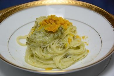 いつものスパゲッティ2013821