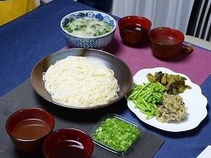 ラム汁素麺2013828