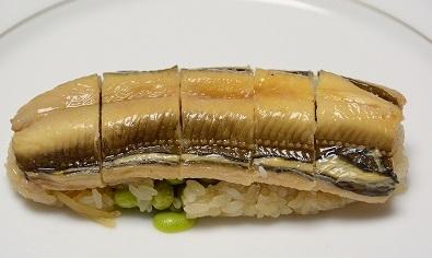 アナゴのおこわ寿司2013927