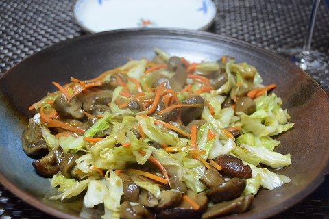 茸と野菜だけ20131124